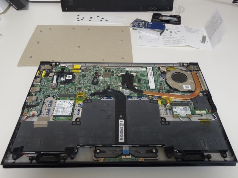 laptop and old ssd